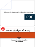 Biometric Authentication Technology PPT (pptplanet.com)