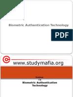 Biometric Authentication Technology PPT (pptplanet.com)