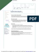 Water Pollution Management Program (WPMP) - Ema