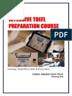 TOEFL Prediction Test