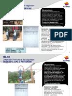 Detención Preventiva de Tareas Setiembre 2012
