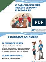 Primarias Curso de Capacitación Para Autoridades de Mesa Bs As