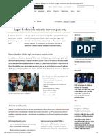 Banco Mundial - Objetivos de desarrollo del milenio - Lograr la educación primaria universal para 2015.pdf