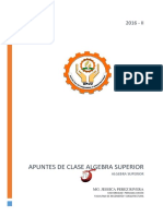 Apuntes de Clase.algebra Superior