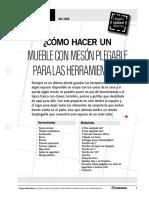 Mu-Is96_como Hacer Un Mueble Con Meson Plegable Para Las Herramientas
