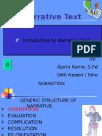 Narrative Text, Merpati