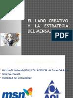El lado creativo y la estrategia del mensaje - Fátima