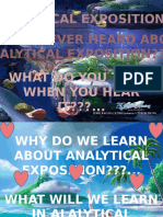 Analytical Exposition New