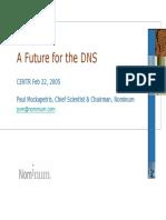 El Futuro de DNS