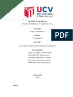 Informe Topográfico - Nivelación y Perfil Longitudinal