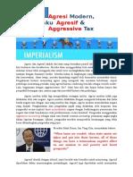 Perilaku agresif pajak