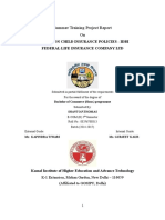 Edited Project 1 -Child Insurance Idbi