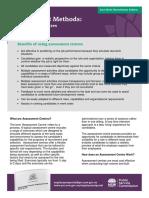 Factsheet - Assessment Centres