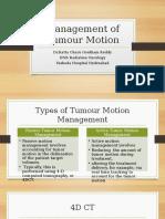 9.Mangement of Tumour Motion