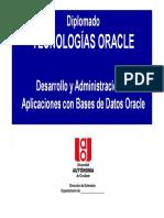 Clase 0 Presentacion Del Curso - oracle