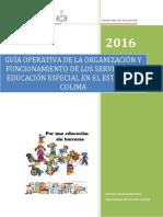 Guía Operativa de Los Servicios de Ee Colima