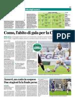 La Provincia Di Como 02-11-2016 - Calcio Lega Pro