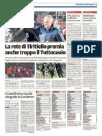 Il Tirreno Pontedera 02-11-2016 - Calcio Lega Pro
