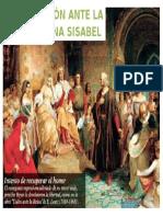 Colon Ante La Reina Isabel