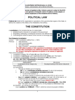 Political Law (wip)