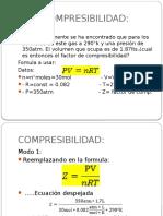 Compresibilidad - Expo