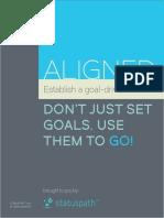 Aligned - Establish a Goal Driven Culture (StatusPath)