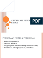 Akuntansi Pendirian Firma