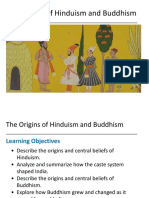 lesson 2 - the origins of hinduism and buddhism