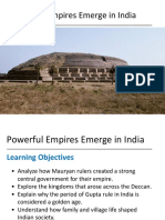 lesson 3 - powerful empires emerge in india