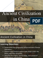 lesson 4 - ancient civilization in china