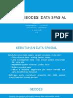 Konsep-Konsep Geodesi Untuk Data Spasial