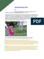 7 Kesalahan Pengembangan Bakat Anak