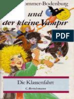 [Kinder] Sommer-Bodenburg, Angela - Der Kleine Vampir 14 - Die Klassenfahrt