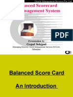2 Balanced Score Card Introduction