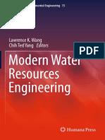 Modern Water Resources Engineering [2014]