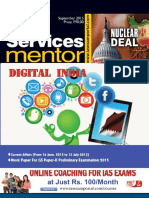 Civil Services Mentor September 2015 Www.iasexamportal.com