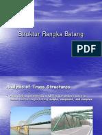 Mekanika Statika-struktur Rangka Batang - teknik sipil - universitas gunadarma