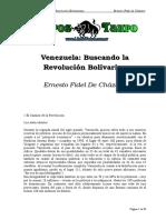 Chazaro, Ernesto Fidel de - Venezuela Buscando La Revolucion