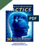 02. Relationship Improvement Tactics