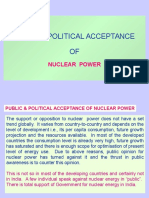Acceptance of NUPOWER