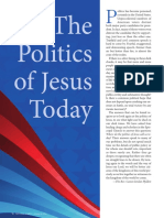 Poltiics of Jesus Today