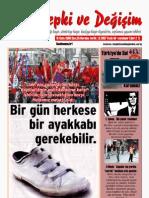 Tepki ve Değişim Dergisi 25. sayı
