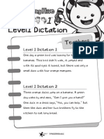 Level1 Dictation