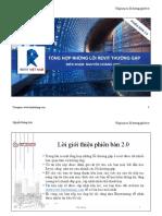 Tổng Hợp Lỗi Thường Gặp ở Revit Phiên Bản 2.0