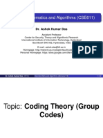 DMA CodingTheory