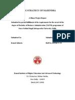 Minor Report Guidelines2012 Tarun