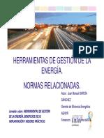 03 Herramientas de Gestion de La Energia Normas Relacionadas Fenercom 2014