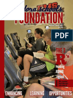 Eudora Schools Foundation Newsletter & Annual Report Fall 2016