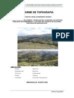 Informe Topografia i