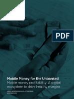 2014 Mobile Money Profitability a Digital Ecosystem to Drive Healthy Margins
